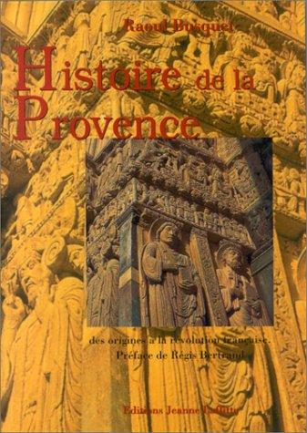 Histoire de la Provence par Raoul Busquet