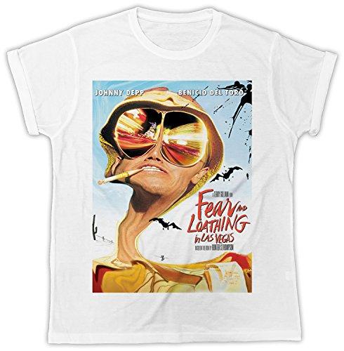 Uk print king Johnny Depp Fear and Loathing in Las Vegas Movie Poster Cooler Spruch, Slogan, lustiges Design, Geschenkidee