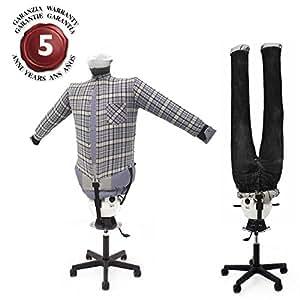 EOLO RepaSSecheur SA06 INOX _ Mannequin semi-professionnels_ Sèche et repasse en automatique chemises, chemisiers pantalons, polos, jeans, ...