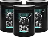 nu3 Erdnussbutter/Peanut Butter, 3kg - pure natürliche Erdnussbutter/Erdnussmus Vegan und ohne Zucker oder sonstige Zusätze von Salz, Öl oder Palmfett, mit 28g Protein pro 100g