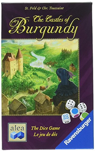 Ravensburger The Castles Burgundy: Strategy Dice Game