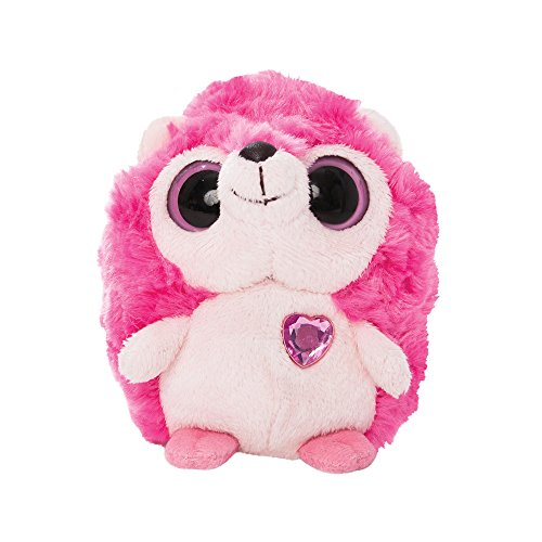 yoohoo-5-inch-blushing-hot-pink-hedgie-with-sound-plush