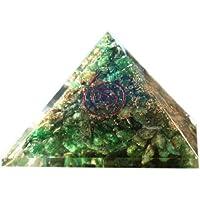 Reiki Chakra-Orgon Aventurin Orgonit Pyramide Reiki heilende Pyramide Crytsal, Chakra, 65mm, mit Tasche preisvergleich bei billige-tabletten.eu