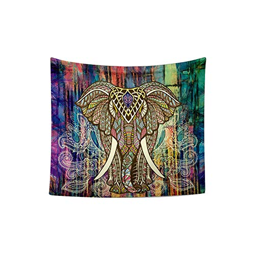 Ruiting Tapestry Bohemia Tapestry Elefante Tapiz Bohemio de Pared Toal