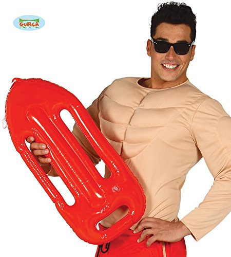 Und Schwimmer Rettungsschwimmer Kostüm (Aufblasbare Boje zum Rettungsschwimmer Kostüm in)