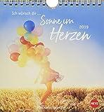 Ich wünsch dir … Sonne im Herzen Postkartenkalender - Kalender 2019