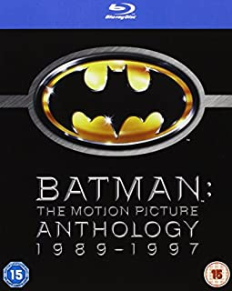 Batman - The Motion Picture Anthology 1989-1997 [Blu-ray][Region Free] [2005] (B001MUK7GY) | Amazon Products
