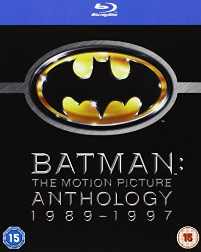 Bild von Batman Legacy - Batman, Batman Returns, Batman Forever, Batman and Robin [Blu-ray] [UK Import]