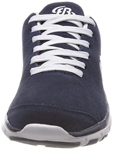 Brütting Dallas, Sneakers Basses Mixte Adulte Bleu (Marine/grau)