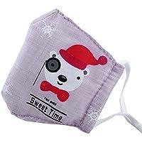 Kids Staubdicht Gesichtsmaske Baumwolle Mundmaske mit verstellbaren Trägern,#07 preisvergleich bei billige-tabletten.eu