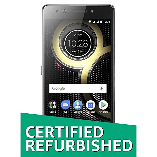 (Certified Refurbished) Lenovo K8 Note (Black, 32GB)