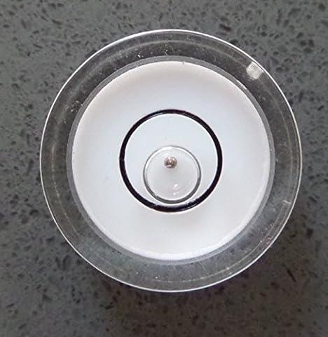 Profi-Wasserwaagen Libellen mit einer Metallkugel im Gehäuse Anleitung, Dosenlibelle, 15mm Durchmesser /kleine Libelle, Mini-Bullauge, Boden-Wasserwaage,