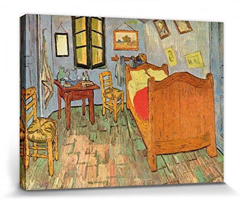 1art1 Vincent Van Gogh - El Dormitorio En