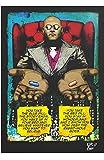 Morpheus de Matrix (1999, Wachowsky) - Illustration Originale Encadrée, Pop-Art Peinture, Presse Artistique, Poster, Toile Imprimée, Image sur Toile, Affiche d'art, Affiche de Film