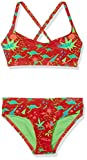 Chiemsee Mädchen Eandra Junior Bikini, Mini Retro Red, 176
