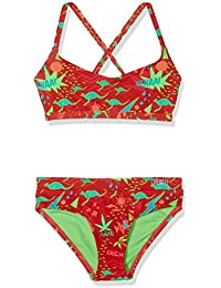 Chiemsee Eandra Junior Bikini para niña, niña, Eandra Junior, Mini Retro Red, 176