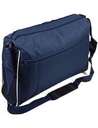 New Navy Messenger Satchel Briefcase Travel Work College School Shoulder Bag 43dc5fc8b970e