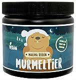 MALIMA BERLIN MURMELTIER / Nahrungsergänzungsmittel für SCHLAF & ERHOLUNG / mit funktionellen Aminosäuren und Pflanzenextrakten / ZUCKERFREI und VEGAN / Hergestellt in Deutschland