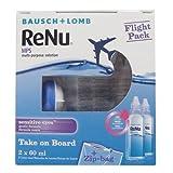 Bausch Lomb ReNu MPS FLIGHT PACK 2 x 60ml - 3 Pack