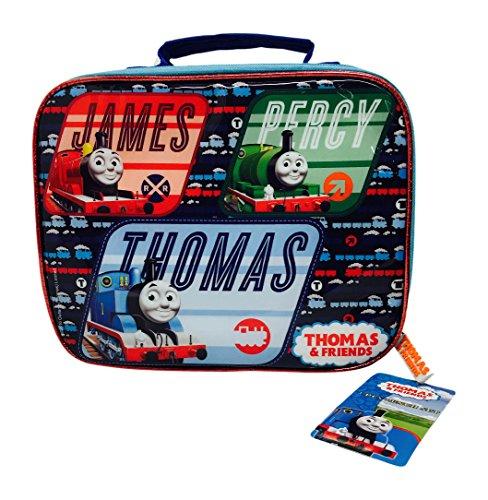 Preisvergleich Produktbild Thomas the Tank Engine F111301 - Thomas und seine Freunde Lunch Set  Bag, Sandwich Box und Flasche,  3 Stück