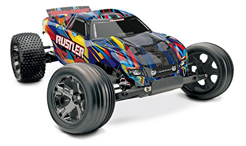 TRAXXAS RUSTLER VXL BL 2.4GHZ Rock and ROLL 1/10 RTR BRUSHLESS 2WD EP