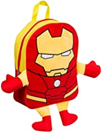 Marvel Avengers Official - Mochila peluche Iron Man para niños/as