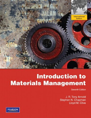 Introduction to Materials Management: International Edition
