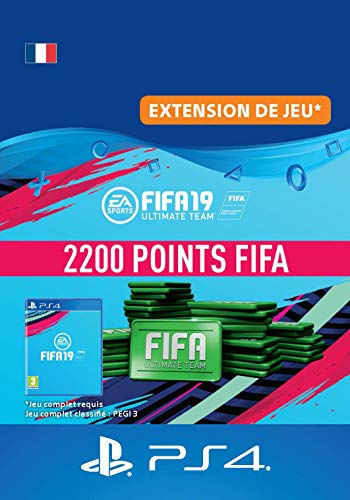 FIFA 19 Ultimate Team - 2200 FIFA Points | Code Jeu PS4 - Compte français