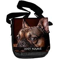Personalizzato Bulldog francese Animali Borsa a tracolla
