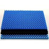 PPI Ersatz Schaumstoff Teichfilter (3 Stk/Pkg) (28 x 43cn) (Blau)