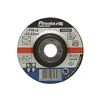 Black and Decker Piranha X32075-QZ – Disco de corte para concreto humedo y piedra, 115 x 22 x 3,2 mm