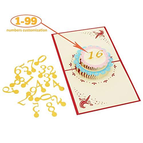 creawoo Thank You Karten (36Stück) inkl. Umschläge & Aufkleber | Persönliche Notizen für Hochzeit, Geburtstag, Events | Hochglanz vorne | 6Custom, Persönlichen Nachrichten