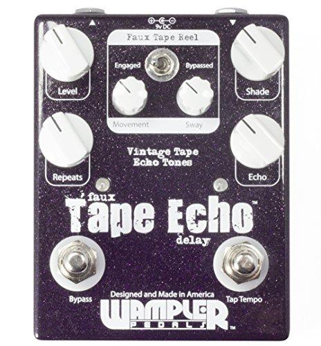 WAMPLER FAUX TAPE ECHO TAP TEMPO · PEDAL GUITARRA ELECTRICA