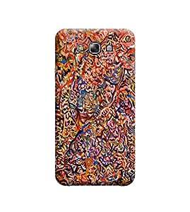 Ebby Premium Designer Back Cover for Samsung E7 (Designer Case)