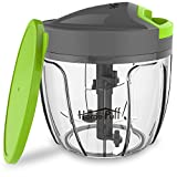#10: Home Puff H14 0.9-Liter Chopper with Storage Lid (Green)