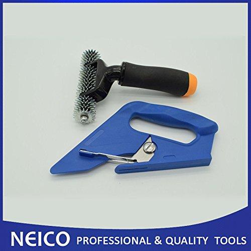Preisvergleich Produktbild Teppich Loop Flor Cutter mit 12,7cm Teppich Nahtroller (2Artikel)