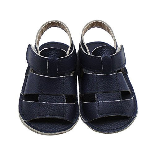 mejale-baby-summer-sandals-100-genuine-leather-soft-sole-toddler-infant-prewalkers-0-3-years-old-nav