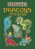 Glitter Dragon Stickers Dover Publications DOV-44107