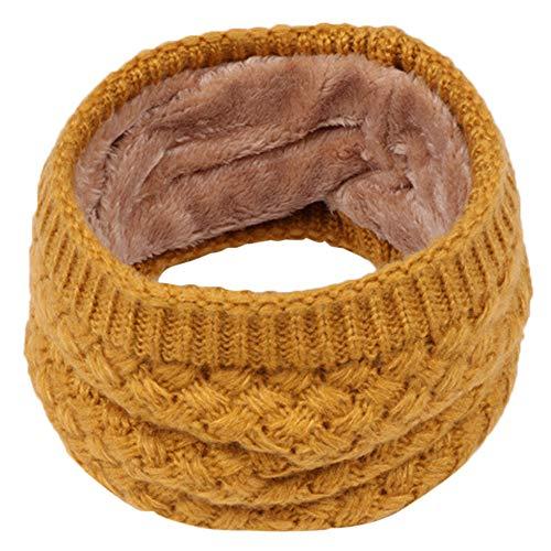 Cuteelf Mädchen Steck-Schal aus Fleece kuschelig weicher Halswärmer mit Schlaufe zum Einstecken -