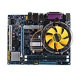 Maistore scheda madre CPU set con 2.66g CPU quad core i5Core + 4G RAM + fan ATX desktop computer mainboard Assemble set