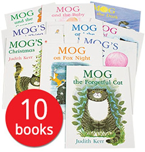 Mog the Cat Pack, 6 books, RRP 35.94 (Mog And Bunny; Mog And The Baby; Mog On Fox Night; Mog in the Dark; Mog the Forgetful Cat; Mog's Bad Thing).