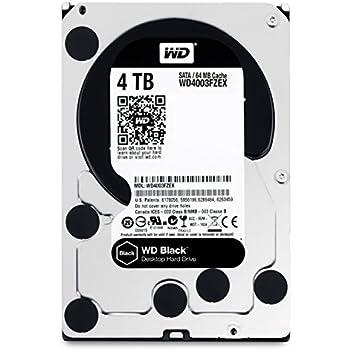 "WD Black - Disco duro de alto rendimiento para ordenadores de sobremesa de 4 TB (7200 rpm, SATA a 6 Gb/s, 64 MB de caché, 3,5"")"