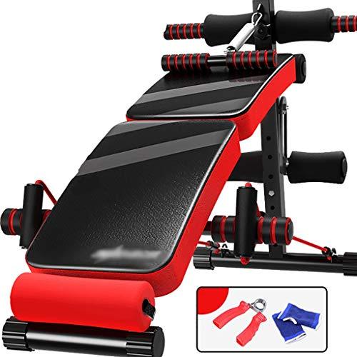 Ywb sit-up board supino sit up palestra attrezzature per il fitness famiglia multifunzione pieghevole movimento addominale ausiliario