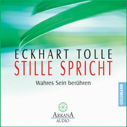 Buchseite und Rezensionen zu 'Stille spricht' von Eckhart Tolle