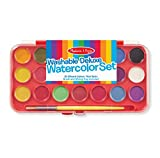 #2: Melissa & Doug 4120 Deluxe Watercolor Paint Set (21 colors)