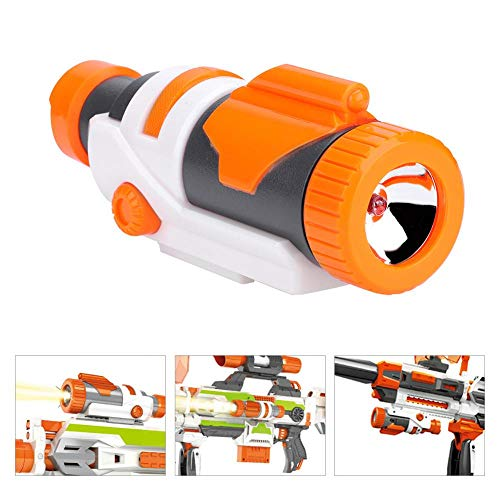 Torce tattiche, Tactical Staccabile LED Light Flash Scope per Nerf Modify Blaster Toy
