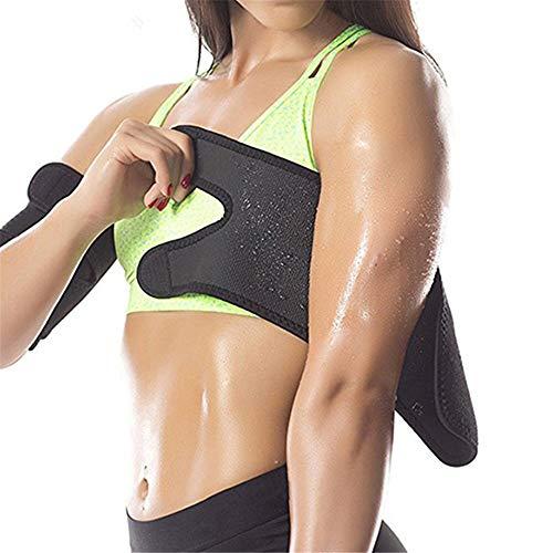 Ellenbogen Bandagen Ideal als Ellenbogenbandage, Neopren-Armschneider Sauna Schweißband for Frauen Männer Gewichtsverlust Compression Body Wraps Sport Workout Übung Verwendet für Muskelentlastung, Ten