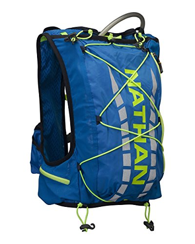 Nathan Herren Dampf Air Hydration Weste/Pack-Electric blau, Large/X-Large/37 - Blumenkasten, Herren, Vapor, Electric Blue Lemonade