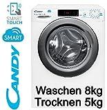CANDY WASCHTROCKNER 2in1 WASCHTROCKNER WASCHMASCHINE + TROCKNER 8 KG+ 5 KG NEU