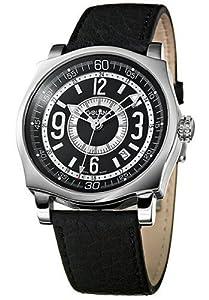 Reloj de caballero Golana Advanced Pro Swiss Made AD10.1 automático, correa de piel color negro
